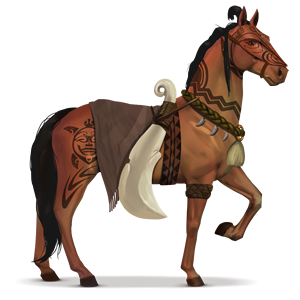 cheval divin tūmatauenga